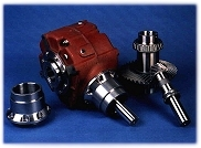Photo of High Precision Gear Box Designed and Manufactured at LFW Manufacturing, Stockton, California